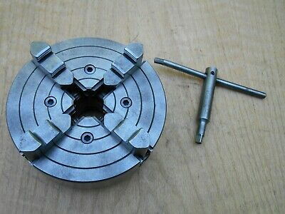South Bend Lathe 9 10k 4 Jaw Chuck Made By Skinner 4006-49 1 12-8tpi