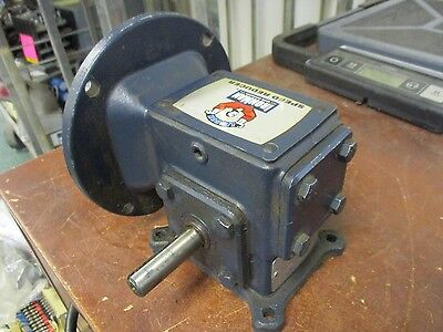 Leeson Ironman Speed Reducer W6130079 Ratio 301 Input 0.32hp Used