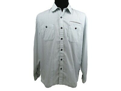 Howler Bros Long Sleeve Vented Outdoor Shirt Mens Large Checkered Pockets