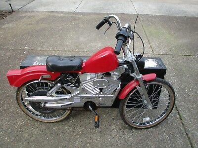 Roadmaster Harley Davidson Sportster Children's Bicycle Bike (RED)