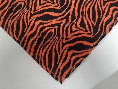 Buster Brown Halloween Tiger Orange Black Dog Bandana