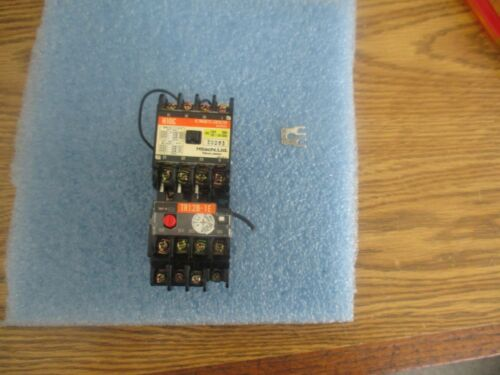 Hitachi: H10C AC Magnetic Contactor with: TR12B-1E & CS-8 Coil Surge Absorber<