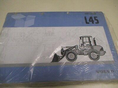 New Volvo L45 Wheel Loader Parts Catalog Manual