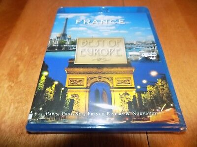 BEST OF EUROPE FRANCE Paris Provence French Riviera Normandy BLU-RAY DISC (Best Of Provence France)