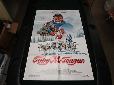 One Sheet Movie Poster Toby McTeague 1986 Yannick Bisson Winston Rekert