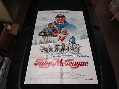 One Sheet Movie Poster Toby McTeague 1986 Yannick Bisson Winston Rekert