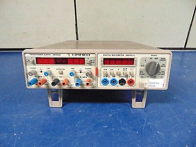 Hameg Hm8040 Triple Power Supply And Hm8011-3 Digital Multimeter R654x