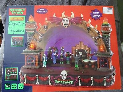 Halloween Lemax Spooky Town, Symphony Of Screams 2018  NEW (Halloween Symphony)