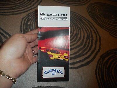 Vintage 1983 Eastern 3 Hours of Daytona Camel GT
