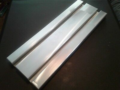 Sacrificial Aluminum T-slot Plate T-slotted Fixture Table - 6 X 16 X 1