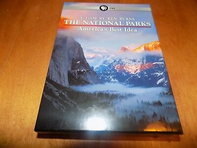 KEN BURNS THE NATIONAL PARKS AMERICA'S BEST IDEA PBS TV Mini-Series DVD SET