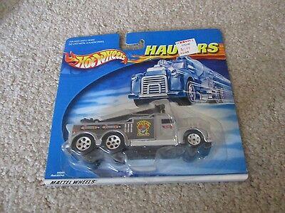 Hot Wheels Haulers Raceway Clean Up Truck MOC 2000 See My (Raceway Stores)