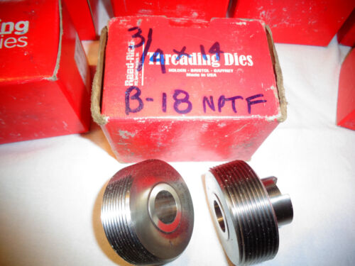 REED THREAD ROLLS B18  Q-2   3/4-14 NPT