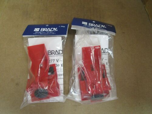 Brady Circuit Breaker Lockout 65397 Lot of 2 New