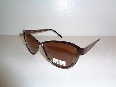Ivanka Trump IT 081 61 Gold Brown Fashion Sunglasses New Womens Eyewear