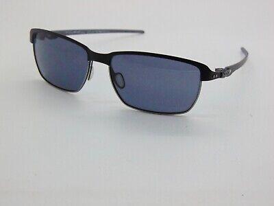 OAKLEY TINFOIL CARBON OO6018-01 Matte Black/Silver Authentic Sunglasses