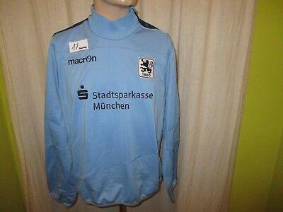 TSV 1860 München macron NLZ Spieler Freizeit Sweatshirt/Pullover + Sponsor Gr.M