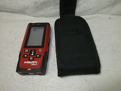 Hilti Pd-1 Laser Range Distance Meter Pulse Power Great Condition