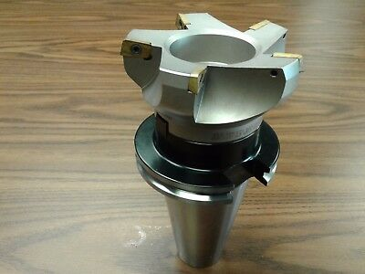 4 75 Degree Indexable Face Shell Mill Milling Cutter Cat50 Apkt 506-75ap-40