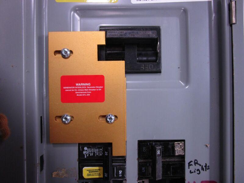 SYL-200 Sylvania Challenger GTE Generator interlock kit 150 200 Amp Panel