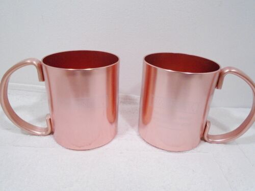 Smirnoff Moscow Mule Cooper Colored Mug  Set of 2 FREE SHIPPING