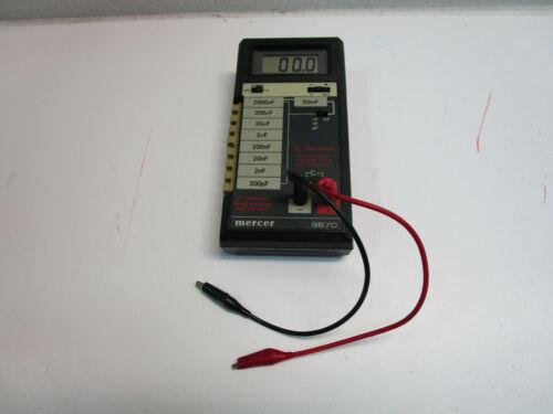 Vintage Mercer Electronics 9670 Digital Capacitance Meter