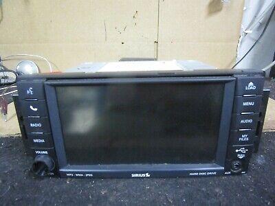 07-14 Dodge Grand Caravan Radio Touch Screen Display AM FM 2007-2014 05064678