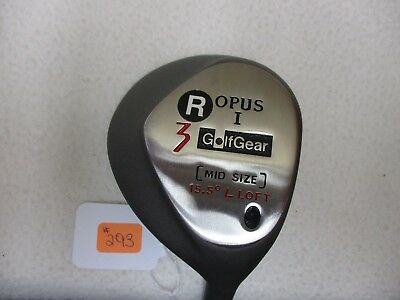 //New Golf Gear R Opus 1 Mid Size 15.5* L #3 Fairway Wood - Right Hand - Men