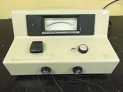 Milton Roy Spectronic 20 Spectrophotometer Mr17