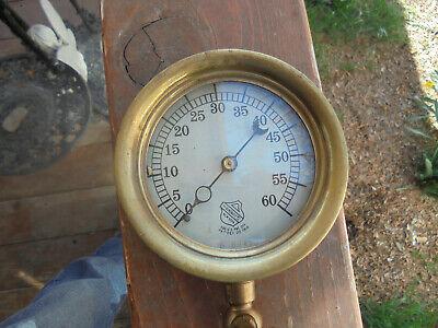 Nice Ashcroft Steam Or Air Pressure Guage