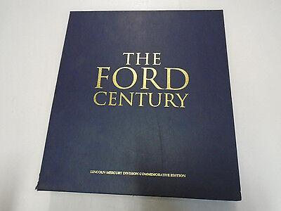 The Ford Motor Company Lincoln Division Century 100 Years Appreciation Book Rare