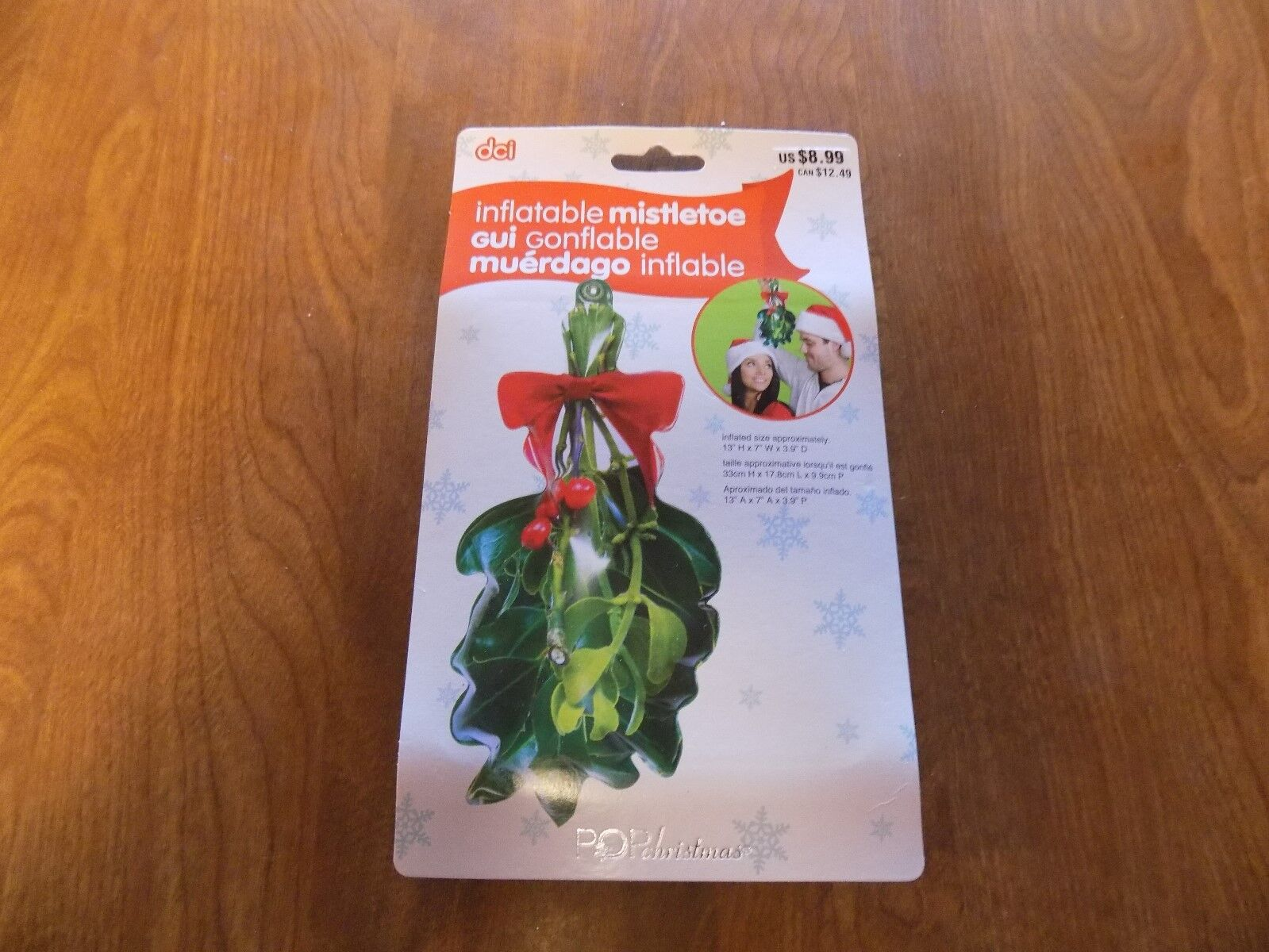 Inflatable Mistletoe By Dci - Christmas Gag Gift / Decoration