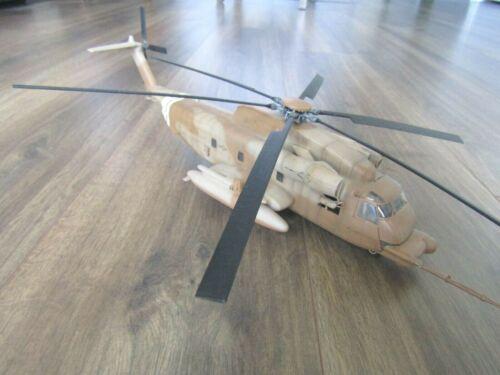 "SIKORSKY MH-53 PAVE LOW ""USMC/DESERT CAMO"" NICE BUILT REVELL 1/72"
