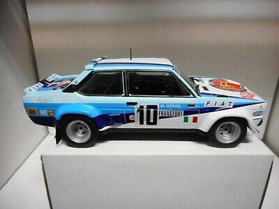 FIAT 131 ABARTH WINNER RALLY MONTE CARLO 1980 n10 W.ROHRL ALTAYA IXO...