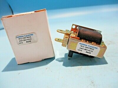 New Guardian Electric 16c-120v Linear Solenoid A421-064142-01