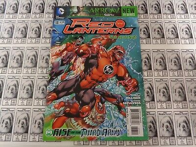 Red Lanterns (2011) DC - #13, Rise of the Third Army, Milligan, VF (New 52)