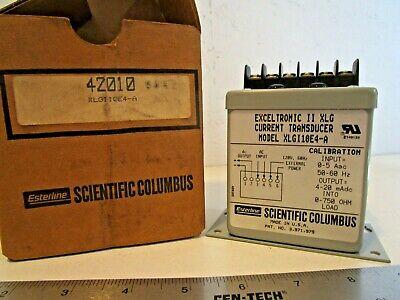 Scientific Columbus Xlgi10e4-a Current Transducer Single Element 120 Vac