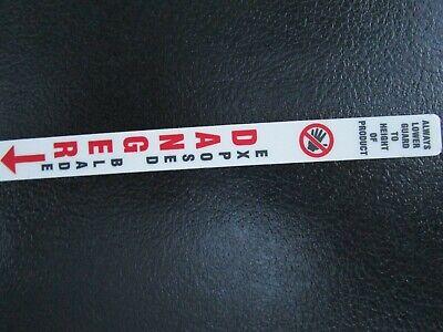 Hobart 5700570158016801 Danger Sticker For Front Blade Guard