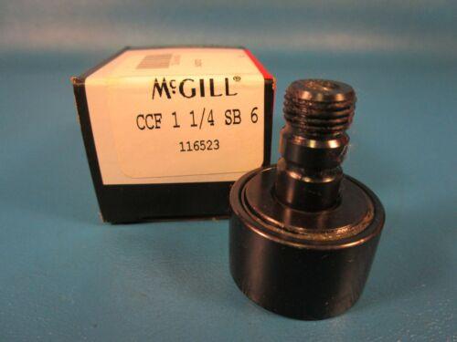 McGill CCF1 1/4SB 6 Crowned Cam Follower, Hex End (Torrington, Osborn)