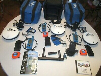3 Ashtech Promark2 Gps Survey Sets Used