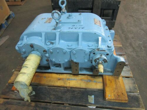 FACTORY REBUILT PHILADELPHIA GEAR REDUCER SIZE 4HR 7.5 HP 1800 RPM 118:1 RATIO
