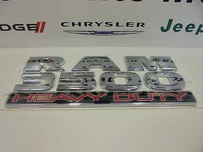 13-16 Dodge Ram 3500 Heavy Duty Emblem Badge Decal Nameplate Mopar Factory Oem