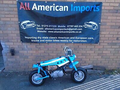 SUZUKI MT50 J MOTORBIKE (1971) FRESH US IMPORT! GREAT PROJECT BASE! RARE! NO RES