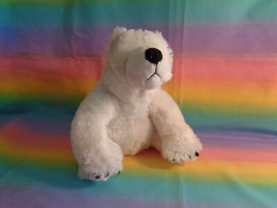 2004 Second Nature Designs Simply Irresistible White Super Soft Polar Bear Plush - Irresistible Soft Toys