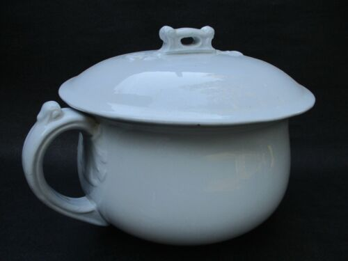 antique chamber pot mellor taylor & greenland ironstone c. 1880