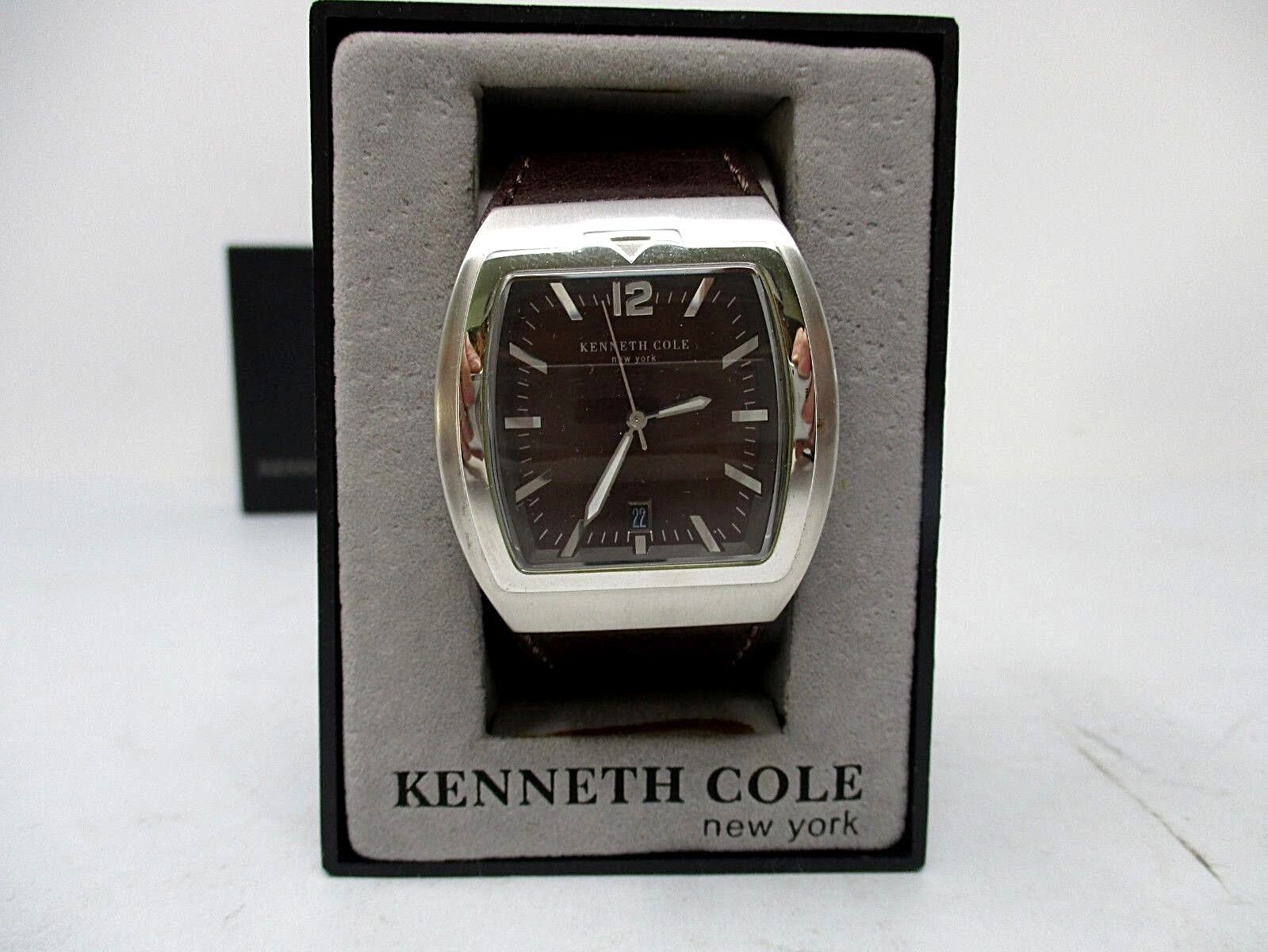 Kenneth Cole Men's Watch P93-05 KC1213 Boxed New