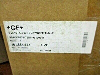 New Gf Georg Fischer 161.684.634 Diastar 10 Fc Pvcptfe-skt Pneumatic Valve