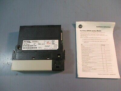 Allen-bradley Controllogix 16 Axis Sercos Interface Module 1756-m16sea Ser. A