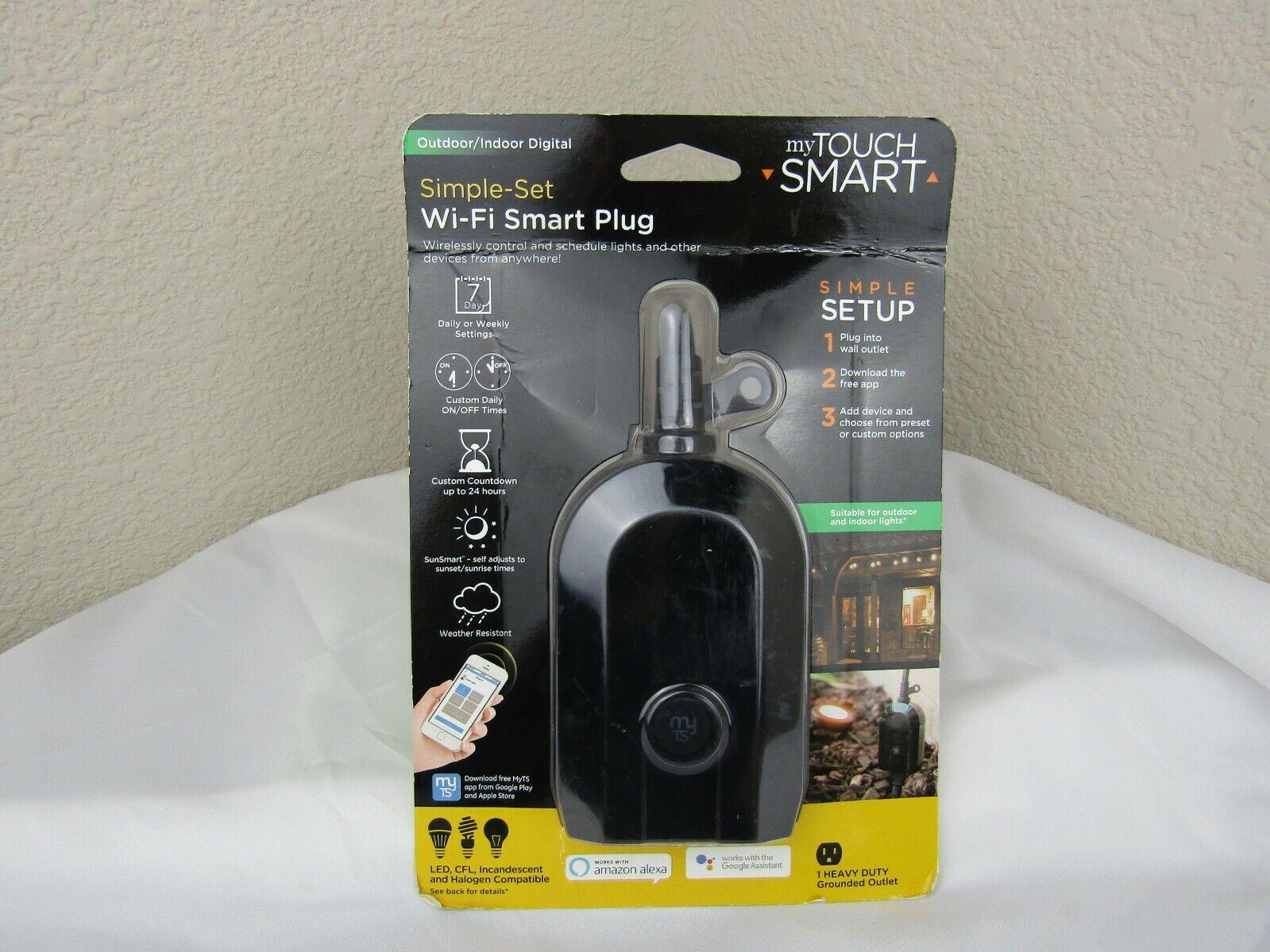 myTouchSmart WiFi Smart Switch, Outdoor/Indoor Digital Plug-