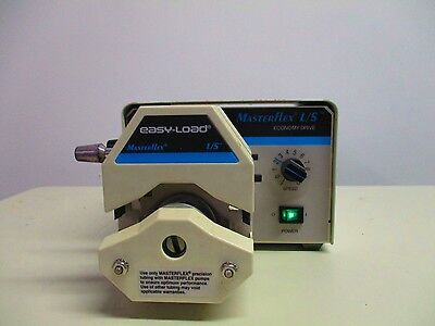 Cole Parmer Masterflex Ls Peristaltic Pump System With 2 Easy-load Pump Heads
